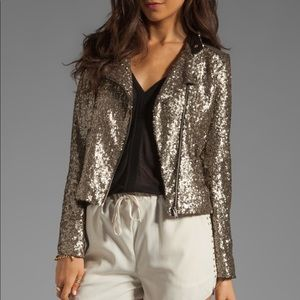 Lovers + Friends Sequin Wish Jacket